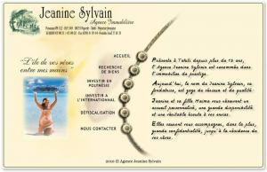 IMMOBILIER JEANINE SYLVAIN