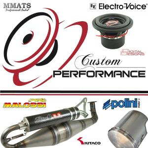 CUSTOM PERFORMANCE ; CAR AUDIO ET PIECES DETACHES MOTO SCOOTER