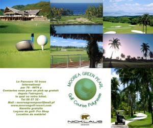MOOREA GREEN PEARL Golf International de Moorea